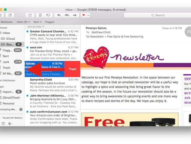 See Mail's new tricks in OS X El Capitan - CNET