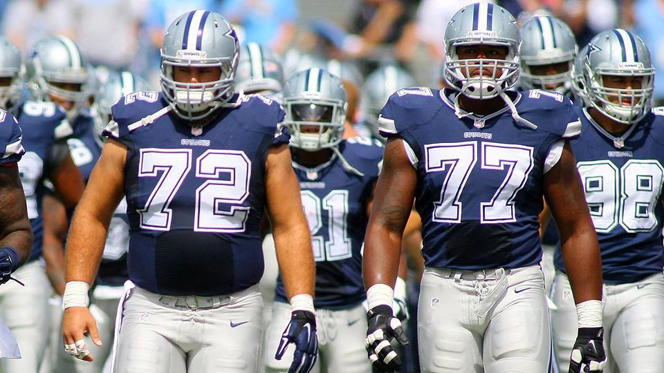 Get used to seeing the Cowboys atop this list: We rank the NFL's best O-lines
