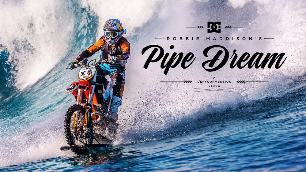 Watch: Robbie Maddison Ride A Dirt Bike At Tahiti
