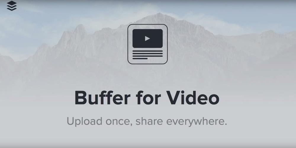 Buffer lets you schedule video posts for Facebook and Twitter