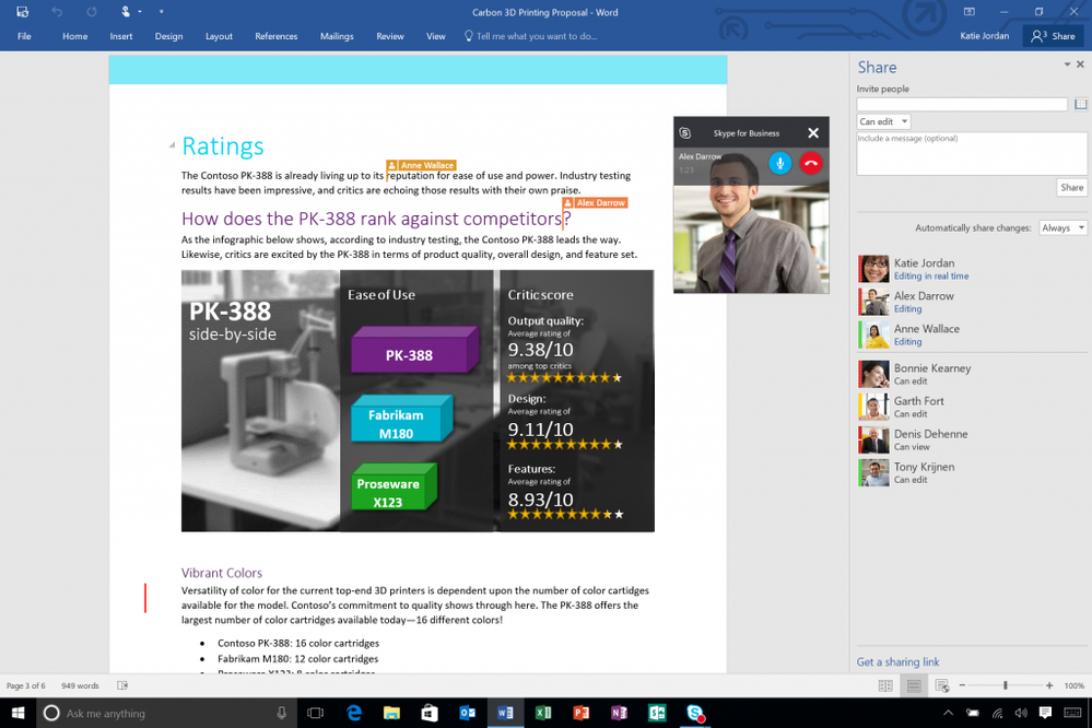Microsoft Office 2016 is here, bringing it into the future