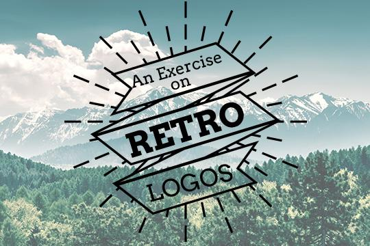 An Exercise on Retro Logos: You Have to Read This