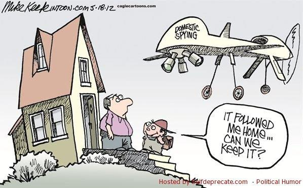 The Realities of Federal Drone Domestic Surveillance | Ken Larson