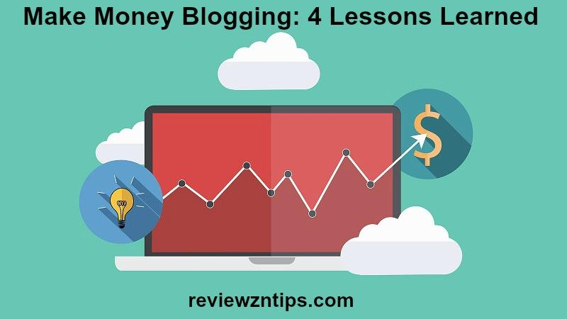 Make Money Blogging: 4 Lessons Learned | Erik Emanuelli