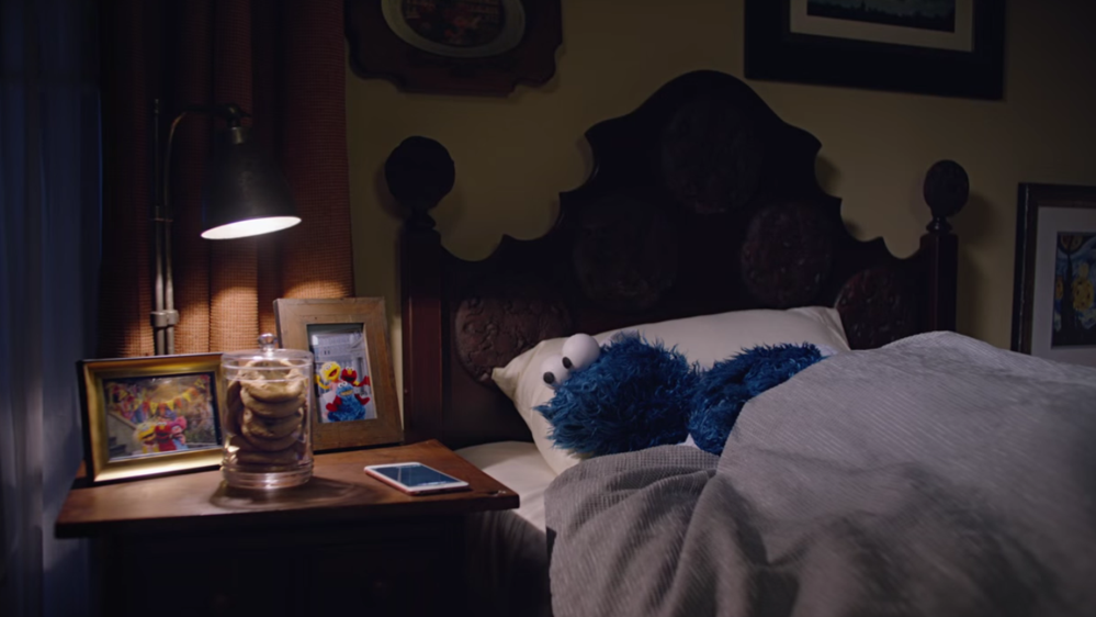 Cookie Monster's Apple ad 'outtakes' are pure joy