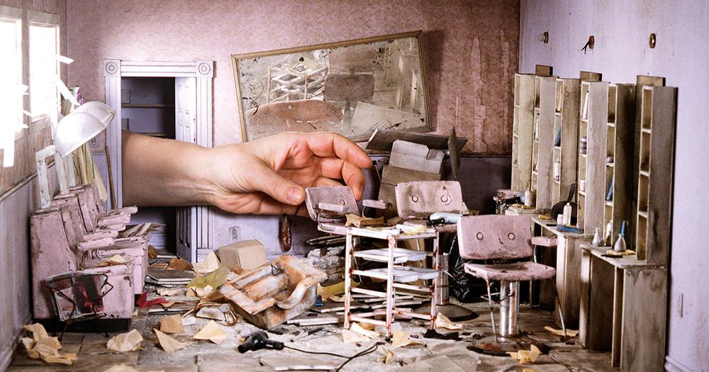 The Photographer Who Captures Tiny Post-Apocalyptic Worlds