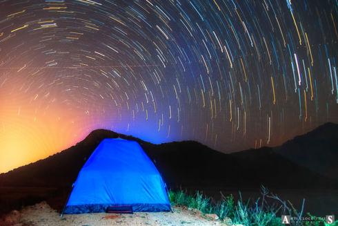 Star Trail (1st Attempt)