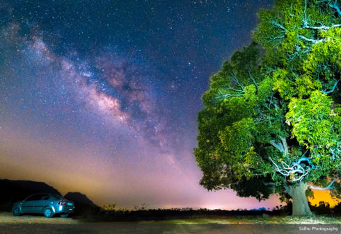 Night With Milkyway