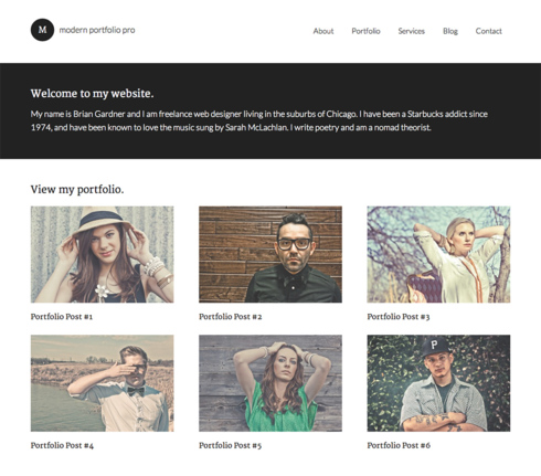 Top 5 Personal/ Business Portfolio WordPress Themes of 2016 WPBlogging360