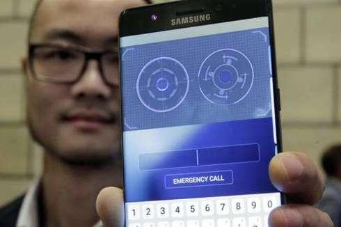 Samsung Galaxy Note 7 Phone Unlocks With Iris Scanner - ProDigitalWeb