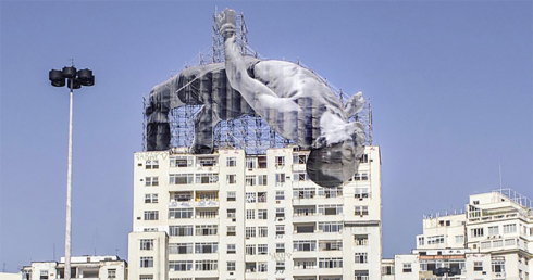 Go Big or Go Home: Athletes are Larger than Life in Rio Art Installation