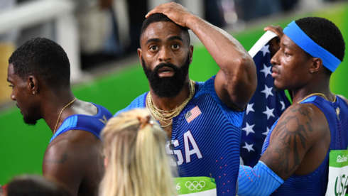 Rio Olympics 2016: Relay miscue highlights U.S. men's fall from sprinting glory