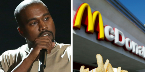 Kanye West Penned A Poem About McDonald's And We're Lovin' It