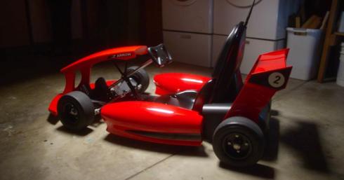 Actev Motors electric go karts forkids