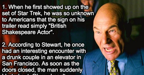 20 Things Most Fans Don't Know About Patrick Stewart.