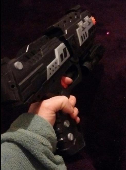Tevelo 2-in-1 Shooting Gun Toy Foam Dart and Water Polymer B... via michael jones