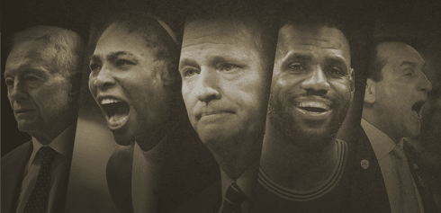 Ranking the 50 most influential people in sports