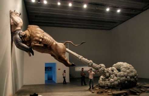 Juxtapoz Magazine - Chen Wenling's Grotesque Materialism