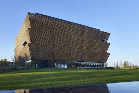 The Smithsonian's NMAAHC Takes Shape on the National Mall