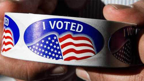"The Surprising Genius Of The ""I Voted"" Sticker"