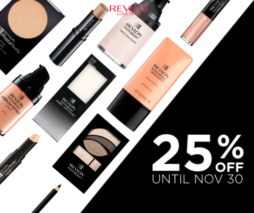 Makeup Sale: Revlon Philippines Offers 25% Discount this Month