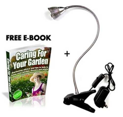 LED Flexible Grow Light Kit with Caring For your Garden E-bo... via michael jones