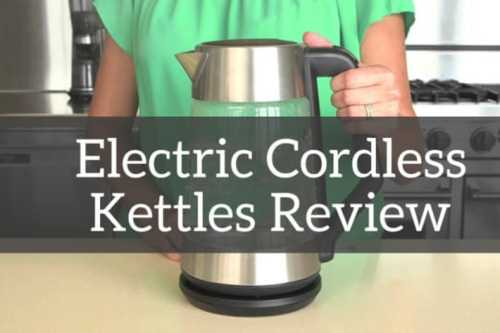 Cordless Electric Kettle – Features Which Make Kettles Popular Among Beverage Lovers