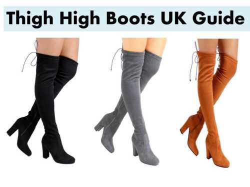 Thigh High Boots - Take Your Style Sky High By Picking Right Selection