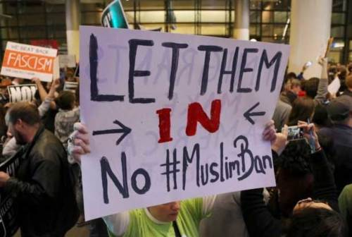 Let Them In No Muslim Ban