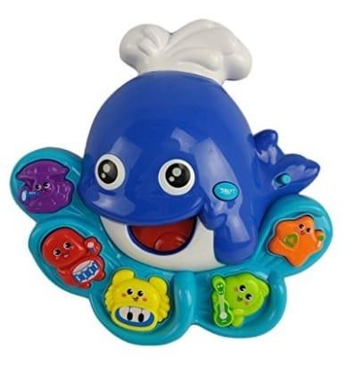 Tevelo Dolphin Shape Musical Lights Toy for Toddlers via michael jones