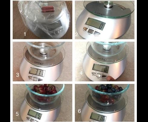 Foods Scale Best Digital Kitchen Weight LCD Display via michael jones