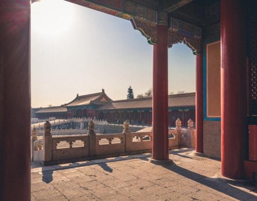 Winter in Beijing via Boris Ulzibat