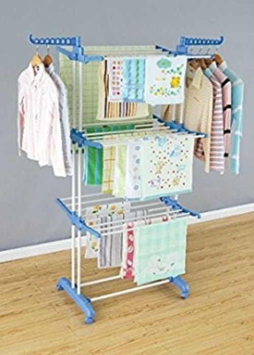 Stainless Steel Foldable Clothes Drying Rack via michael jones
