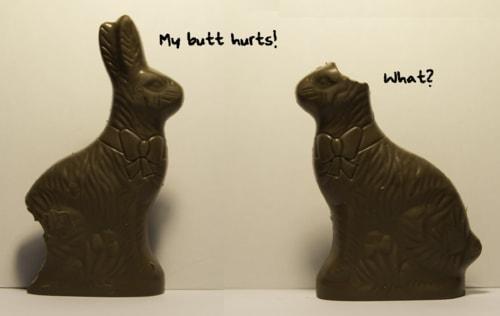 time for my Easter joke via David Brown Eyes