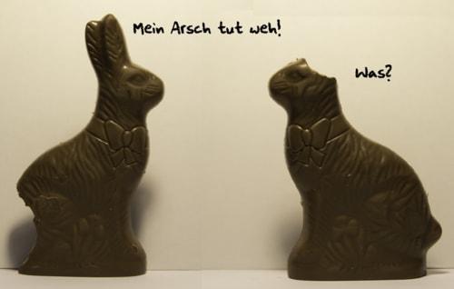 Why do I find my Easter joke funnier in German? via David Brown Eyes