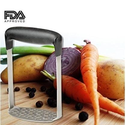 Potato Masher + Vegetable Peeler kitchen set. Heavy duty Sta... via michael jones