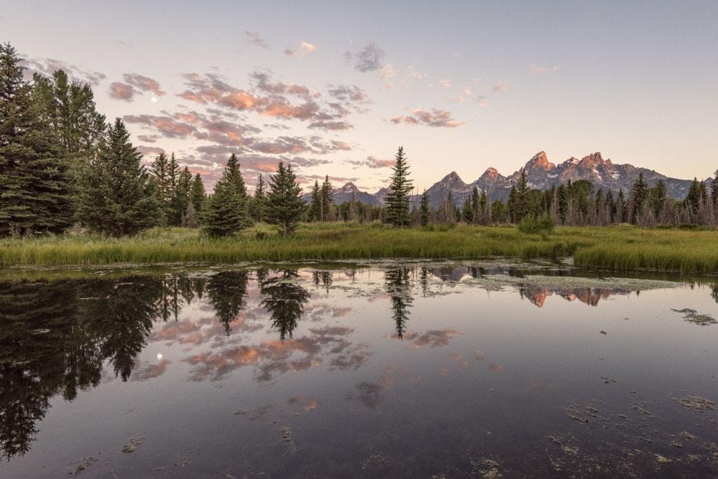 Teton Sunrise via Stacy White