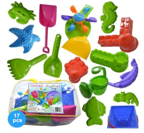 FULLY EQUIPPED FOR SIZZLING FUN                                     Sand Bucket 17 Elements, Mol... via michael jones