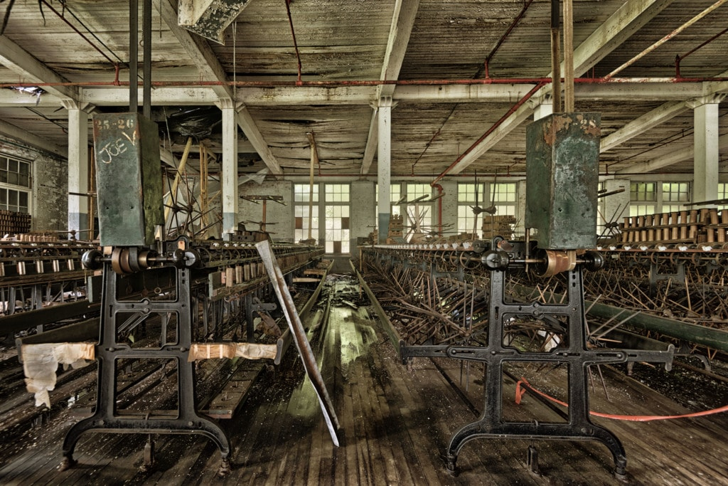 The Old Silk Mill via Stacy White