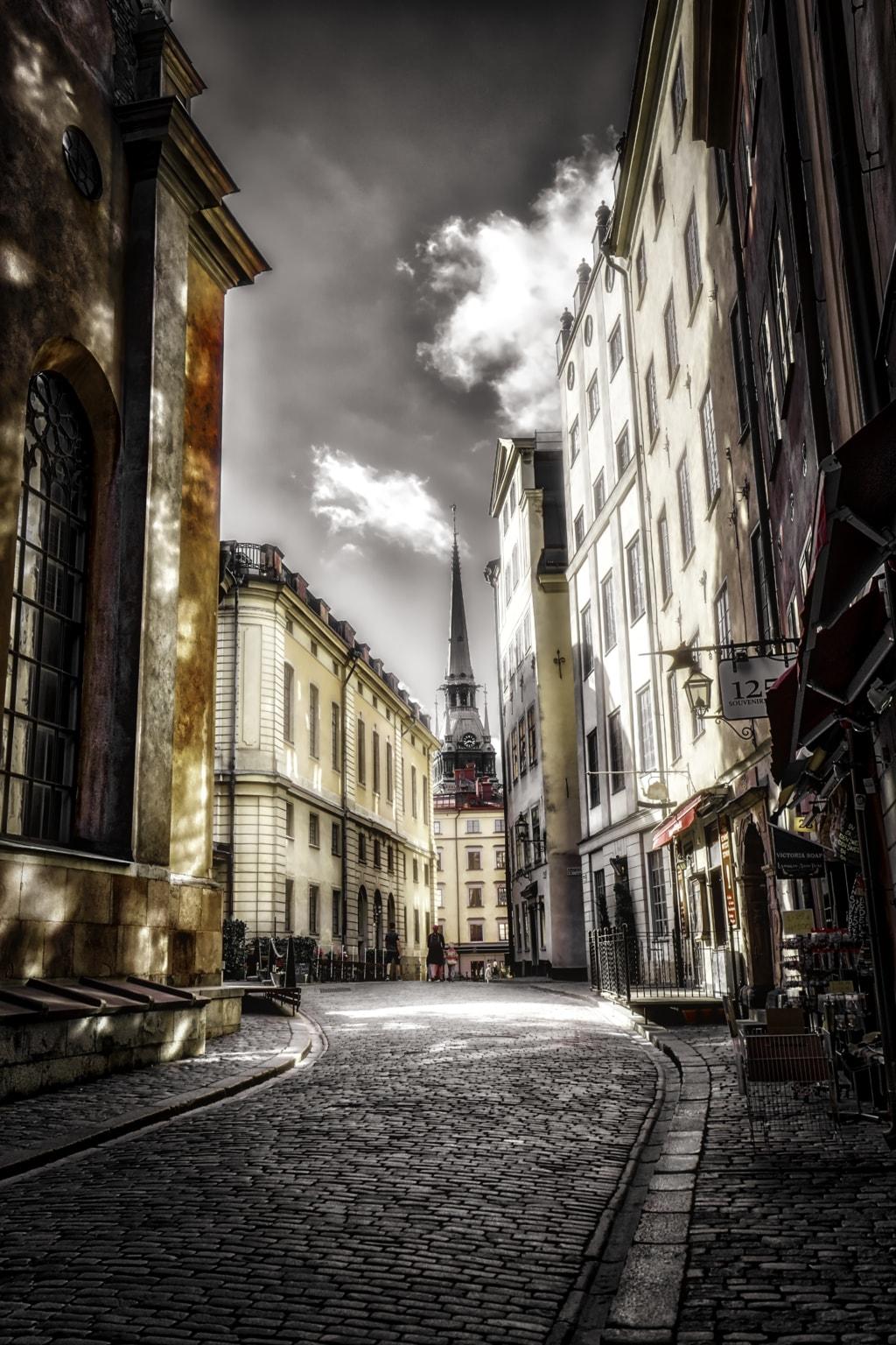 Streets of stockholm via Lars-Ove Törnebohm