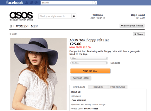 Is a Facebook store better than an online marketplace?   Browntape