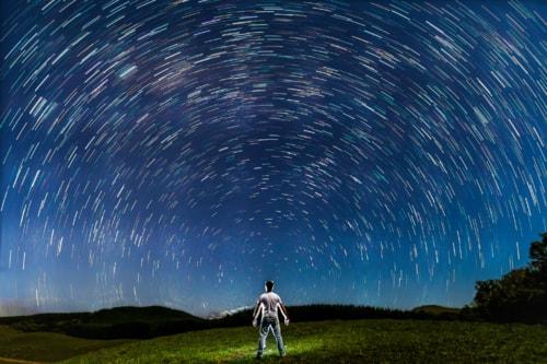 Star Trails via Fabio Viero
