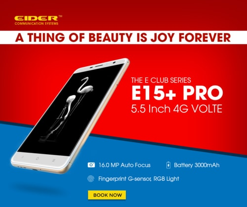 Shop for the EIDER E15+ PRO, a newly launched 4G VOLTE smart... via EIDER INDIA