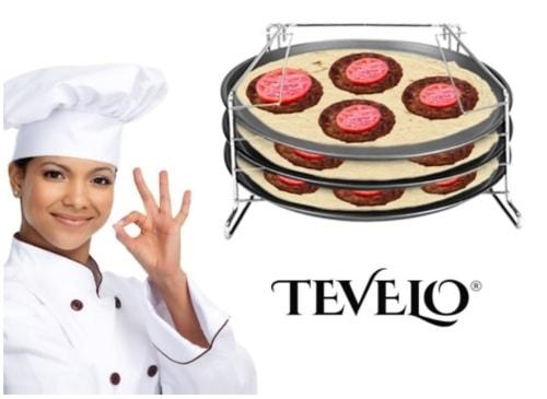 4 Piece Pizza in Pan Trays Baking Set- Nonstick Pans                                      Buy No... via michael jones