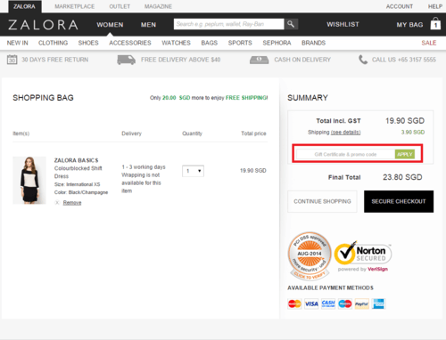 Zalora Voucher Codes  & Zalora Coupons June 2017