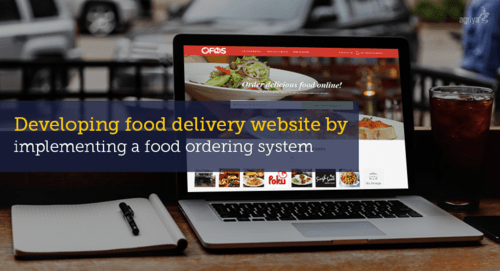 Developing food delivery website by implementing a food ordering system