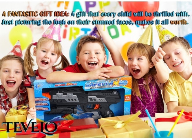 2 In 1 Shooting Gun Toy By Tevelo – Super Sniper Weapon Toy                                         ... via michael jones