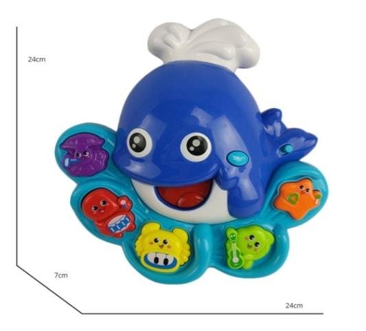 Tevelo Dolphin Shape Musical Lights Toy for Toddlers                                         https:/... via michael jones