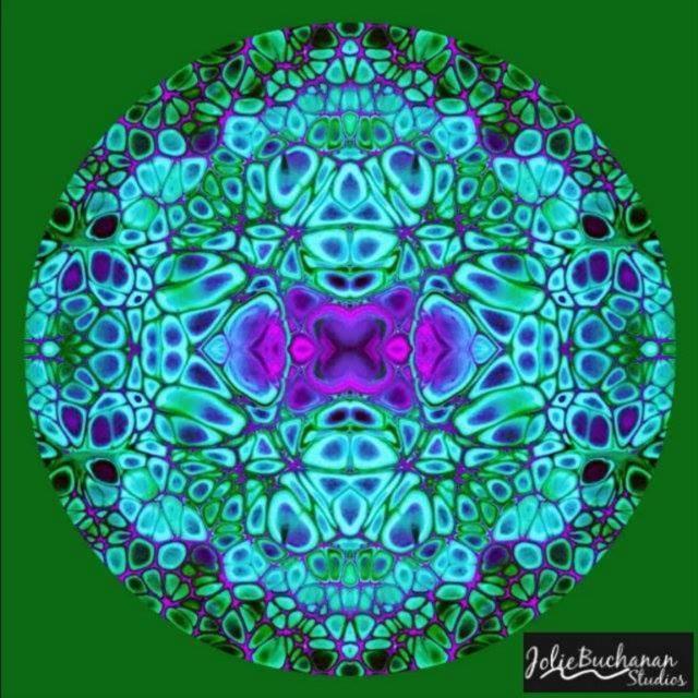 Mandala for the Week via Jolie Buchanan