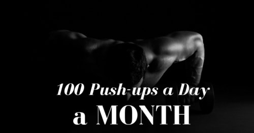 What Would Happen if You Did 100 Pushups a Day for a Month?
